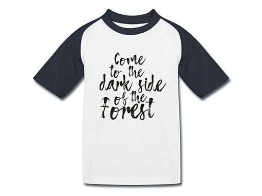 bollengut_Schwarzwald-T-Shirt_come-to-the-dark-side-of-the-forest-kinder-baseball-t-shirt