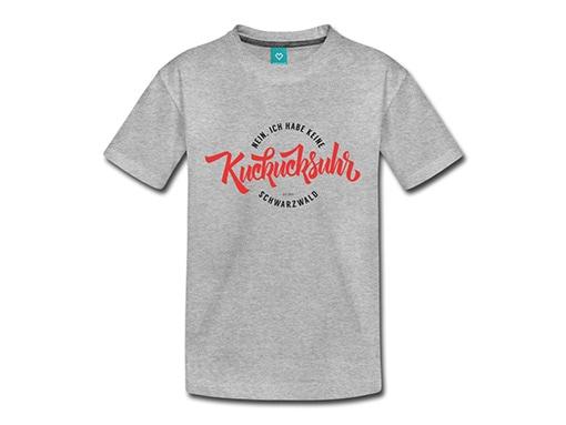 bollengut_Schwarzwald_T-Shirt_ich-habe-keine-kuckucksuhr-aus-dem-schwarzwald-rot-kinder-premium-t-shirt