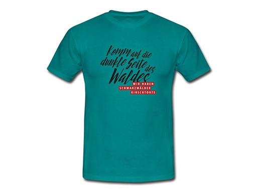 bollengut_Schwarzwald_T-Shirt_komm-auf-die-dunkle-seite-des-waldes-wir-haben-maenner-t-shirt