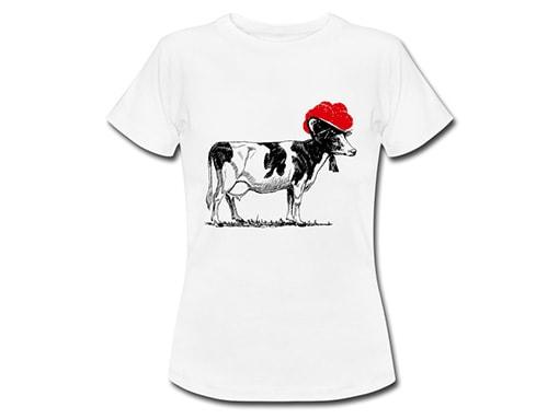 bollengut_Schwarzwald_T-Shirt_kuh-mit-bollenhut-frauen-t-shirt