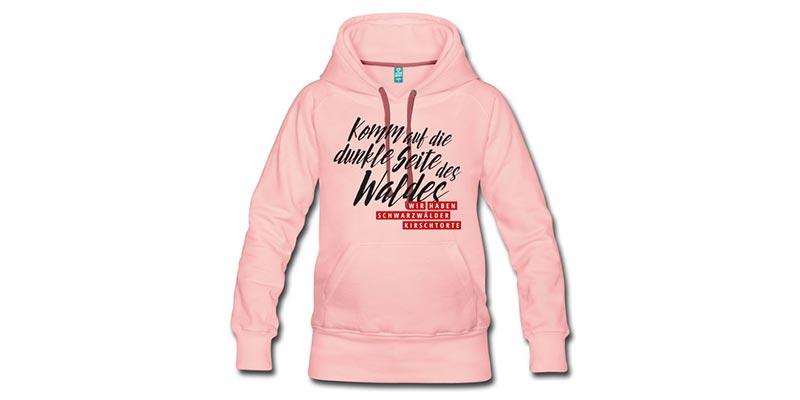 bollengut_komm-auf-die-dunkle-seite-des-waldes-wir-haben-frauen-premium-hoodie