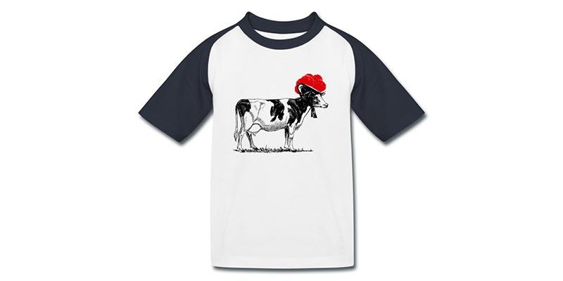 bollengut_kuh-mit-bollenhut-kinder-baseball-t-shirt