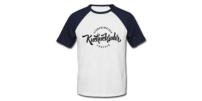 bollengut_schwarzwaelder-kuckucksuhr-forever-maenner-baseball-t-shirt