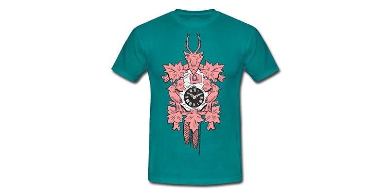 bollengut_schwarzwaelder-kuckucksuhr-maenner-t-shirt