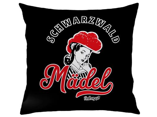 """Schwarzwald Kissen: Schwarzwaldmädel """"Leni"""""""