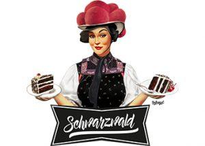 bollengut_Schwarzwaldmaedel_mit_Schwarzwaelder-Kirschtorte_Schwarzwald_Vorschau