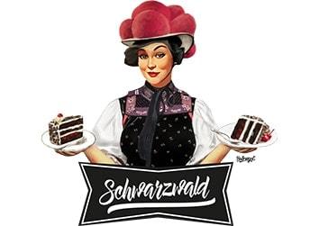 """Schwarzwaldmädel """"Anna"""" mit Schwarzwälder Kirschtorte"""