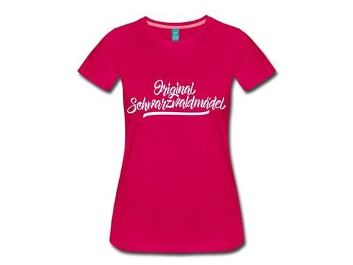 Schwarzwald T-Shirt: Original Schwarzwaldmädel
