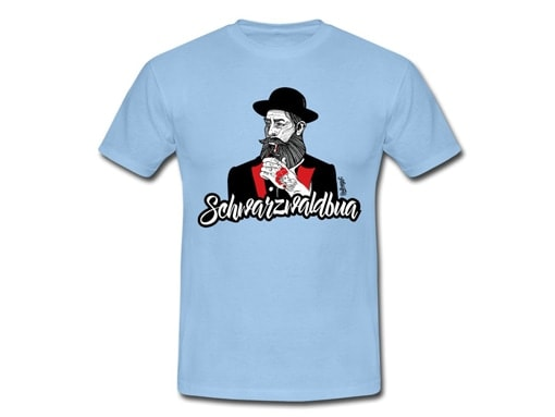 "Schwarzwald T-Shirt: Schwarzwaldbua ""Hannes"""