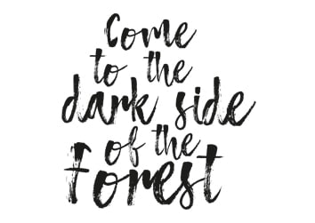 Come to the dark side of the Forest
