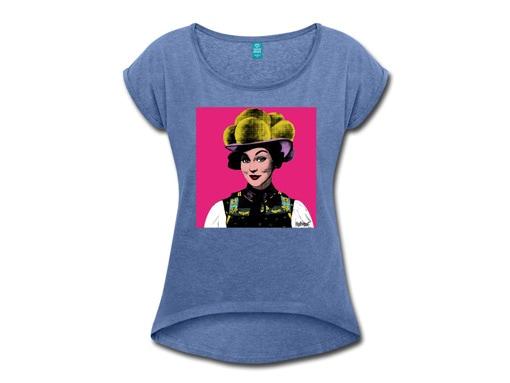 """Schwarzwald T-Shirt: """"Anna"""" Pop Art"""