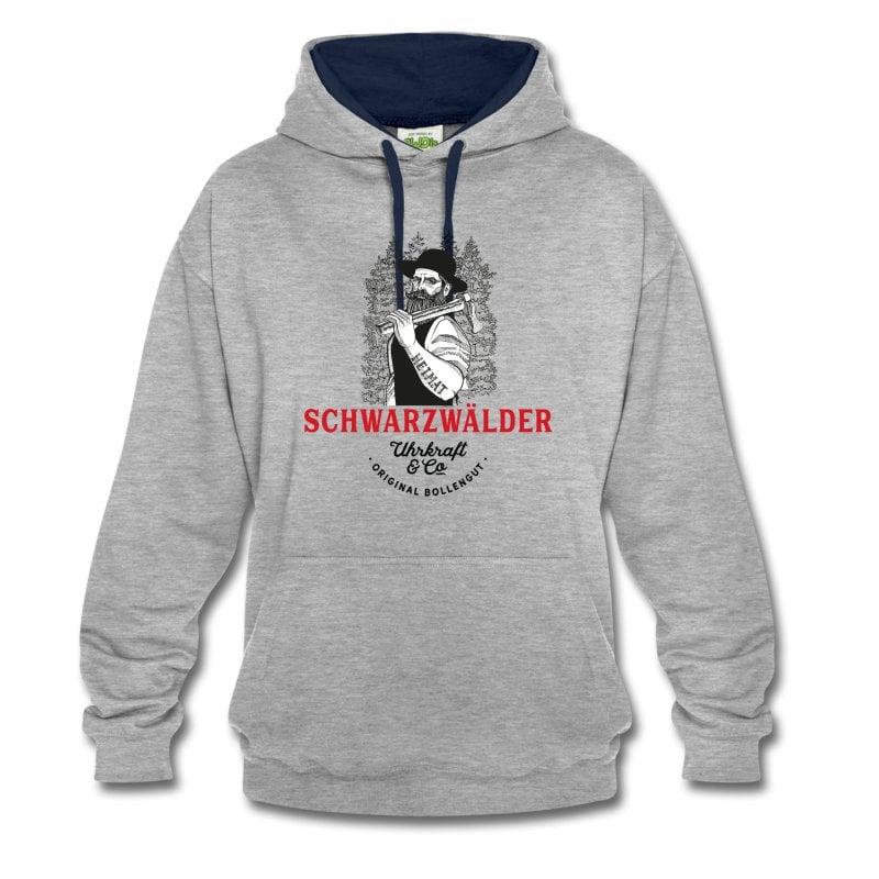 schwarzwaelder-michel-uhrkraft-kontrast-hoodie