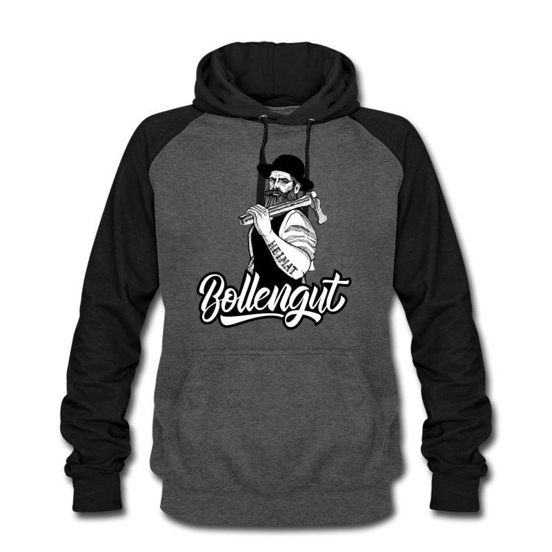 schwarzwaldbua-michel-bollengut-unisex-baseball-hoodie