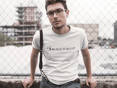 Schwarzwald T-Shirt: I love Black Forest