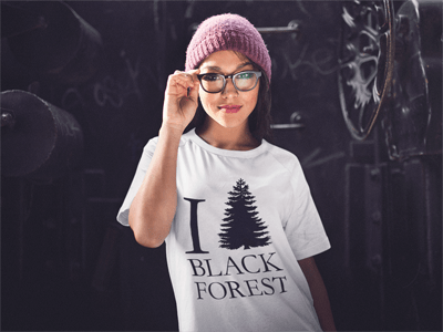 Schwarzwald T-Shirt: I love Black Forest