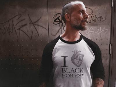 Schwarzwald Pullover:  I love Black Forest