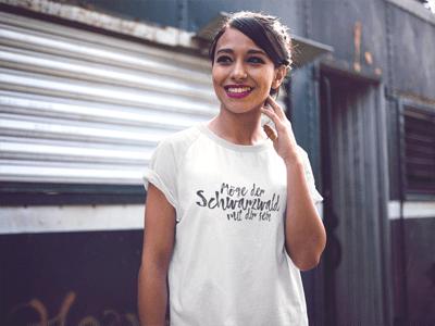 Schwarzwald T-Shirt: Möge der Schwarzwald mit dir sein