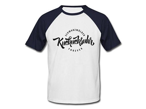 Schwarzwald T-Shirt:  Schwarzwälder Kuckucksuhr forever