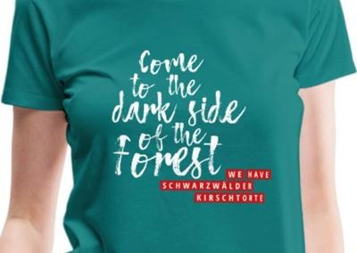 Come to the dark side of the Forest – we have Schwarzwälder Kirschtorte