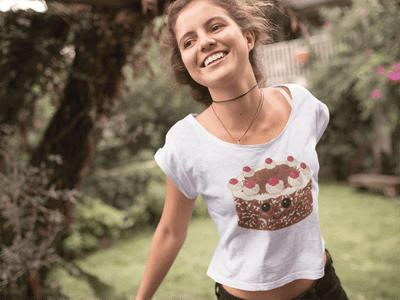 Schwarzwald T-Shirt: Schwarzwälder Kirschtorte