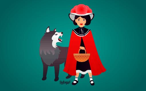 rotkäppchen und der böse wolf im schwarzwald  bollengut