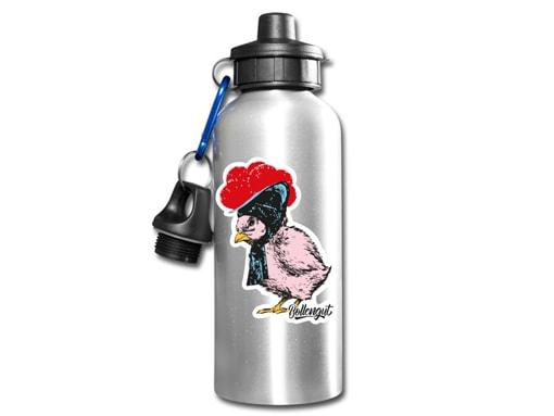 Schwarzwald Flasche: Küken mit Bollenhut Popart