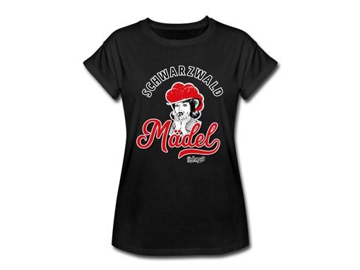 """Schwarzwald T-Shirt: Schwarzwaldmädel """"Clara"""""""