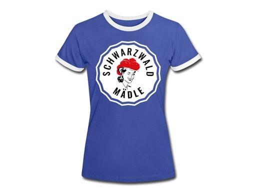 Schwarzwald T-Shirt: Schwarzwaldmädle