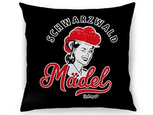 """Schwarzwald Kissen: Schwarzwaldmädel """"Hannah"""""""