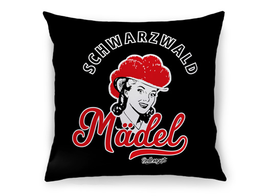 """Schwarzwald Kissen: Schwarzwaldmädel """"Marie"""""""
