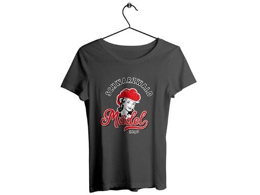 """Schwarzwald T-Shirt: Schwarzwaldmädel """"Marie"""""""