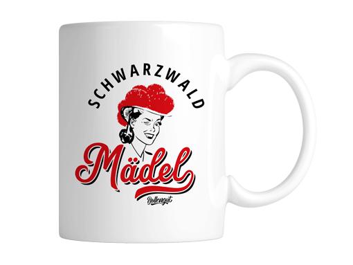 """Schwarzwald Tasse: Schwarzwaldmädel """"Hannah"""""""