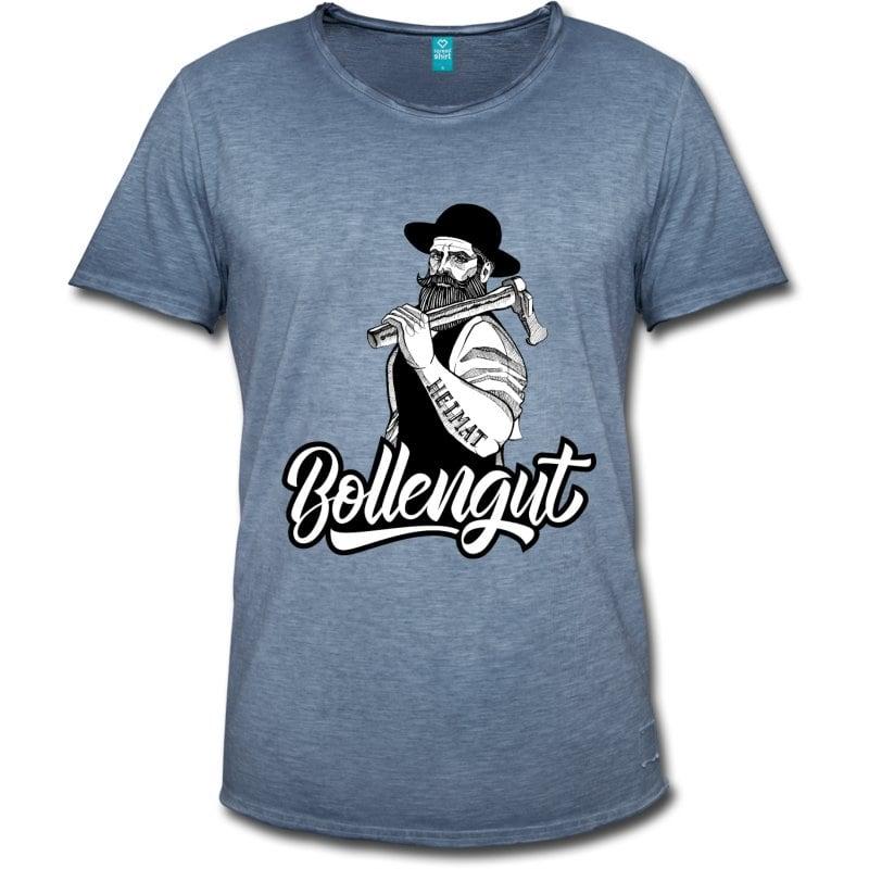schwarzwaldbua-michel-bollengut-maenner-vintage-t-shirt