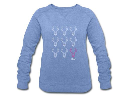 Schwarzwälder Geweihe Grid Pullover