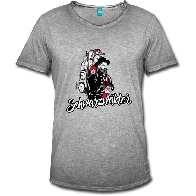 "Schwarzwälder Uhrenträger ""Primus"" T-Shirt"