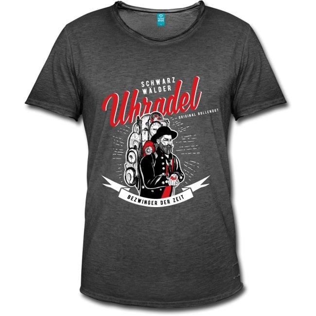 """Schwarzwälder Uhrenträger """"Uhradel"""" T-Shirt"""