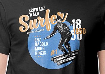 """Schwarzwald Surfer """"Gregor"""""""