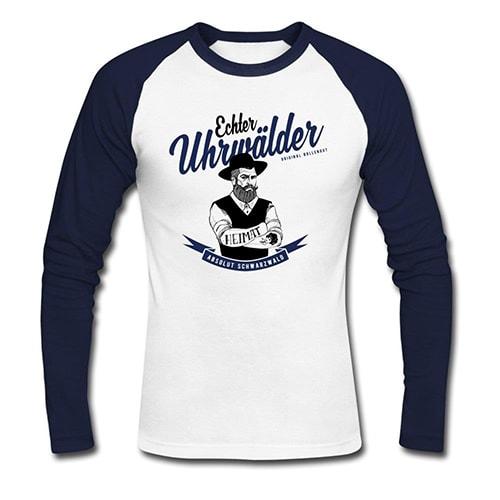 "Uhrwälder ""Hippolyt"" Baseballshirt"