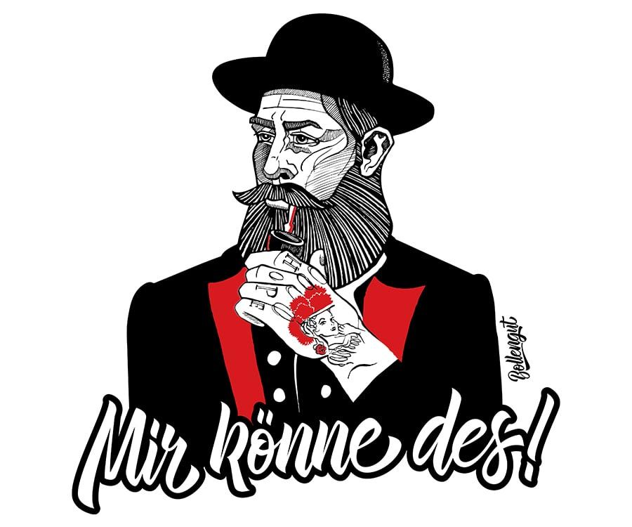 """Schwarzwaldbua """"Hannes"""" Mir könne des!"""