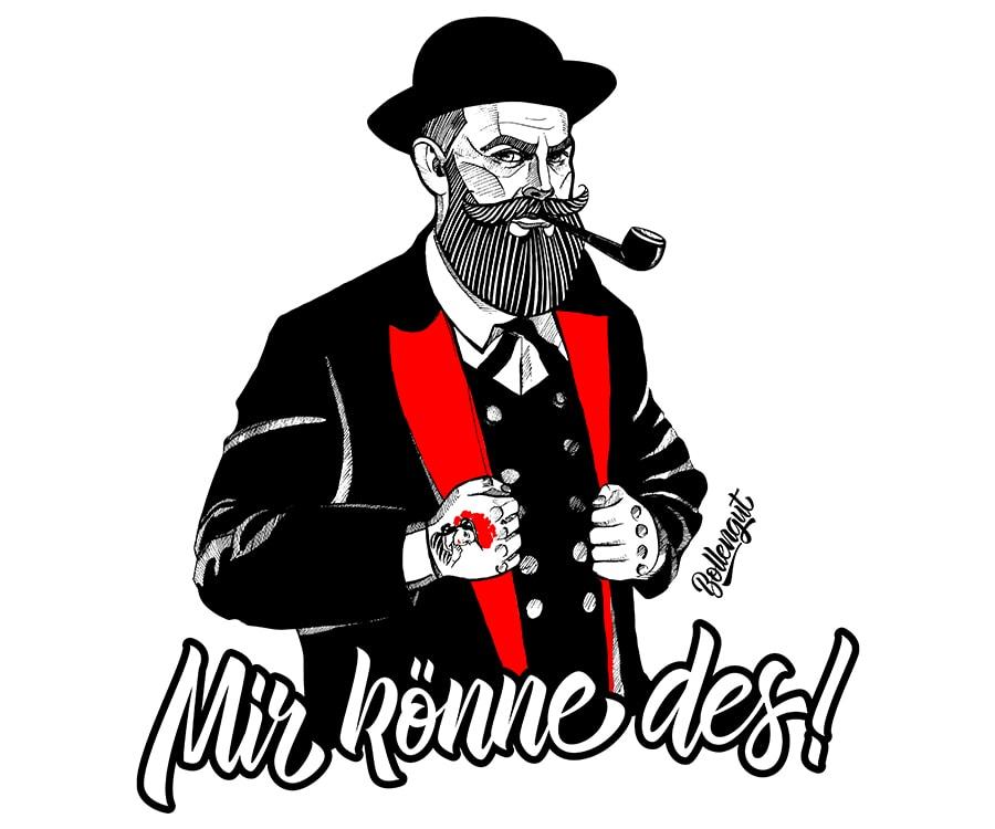 """Schwarzwaldbub """"Josef"""" Mir könne des!"""
