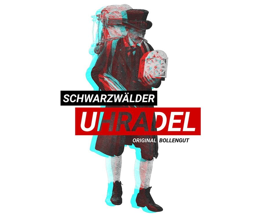 """Schwarzwälder Uhrenträger """"Emil"""""""