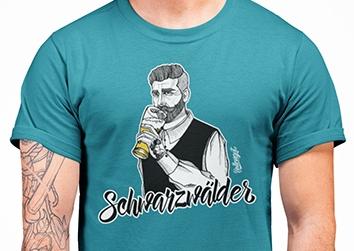 """Schwarzwälder """"Benno"""" mit Bier"""