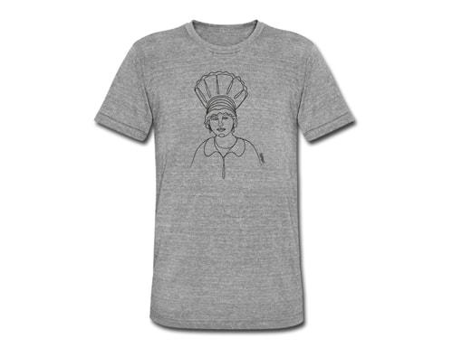 Bollengut Schwarzwaldmädel Rita mit Radhaube T-Shirt