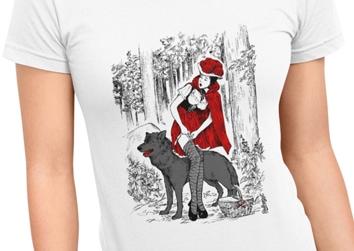 """Rotkäppchen """"Elli"""" im Wald"""