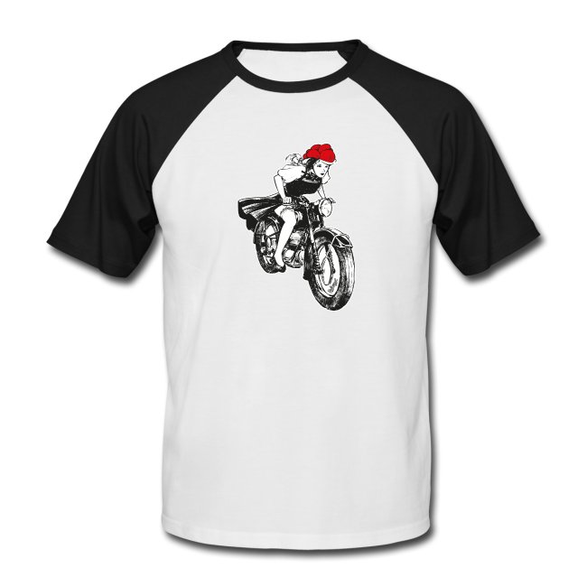 illustration-einer-jungen-frau-mit-dem-traditionellen-schwarzwaelder-bollenhut-auf-einem-motorrad (2)