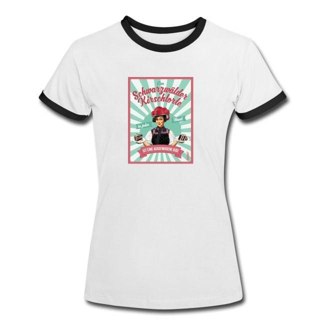 Bollengut_Anna_Ausgewogene_Diaet_Schwarzwaelder-Kirschtorte_T-Shirt