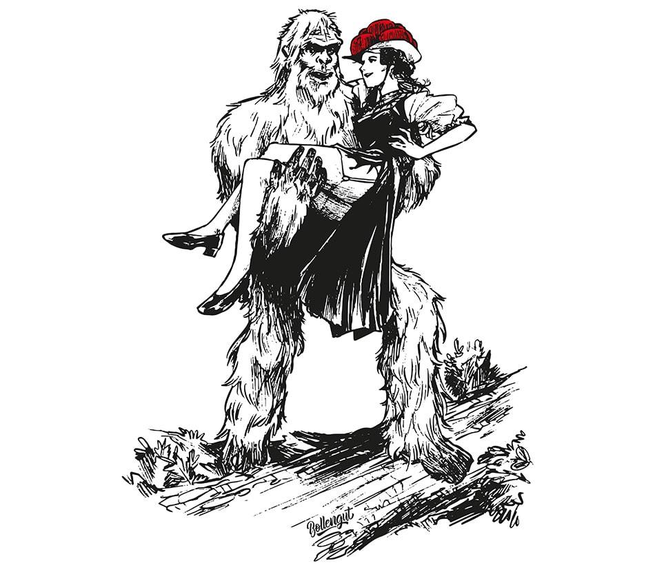 Bollengut_Bigfoot_im_Schwarzwald