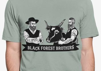 """Black Forest Brothers Schwarzwälder """"Hippolyt"""" und Bauer """"Bruno"""""""