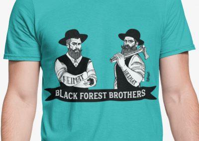 """Black Forest Brothers Schwarzwälder """"Hippolyt"""" und """"Michel"""""""