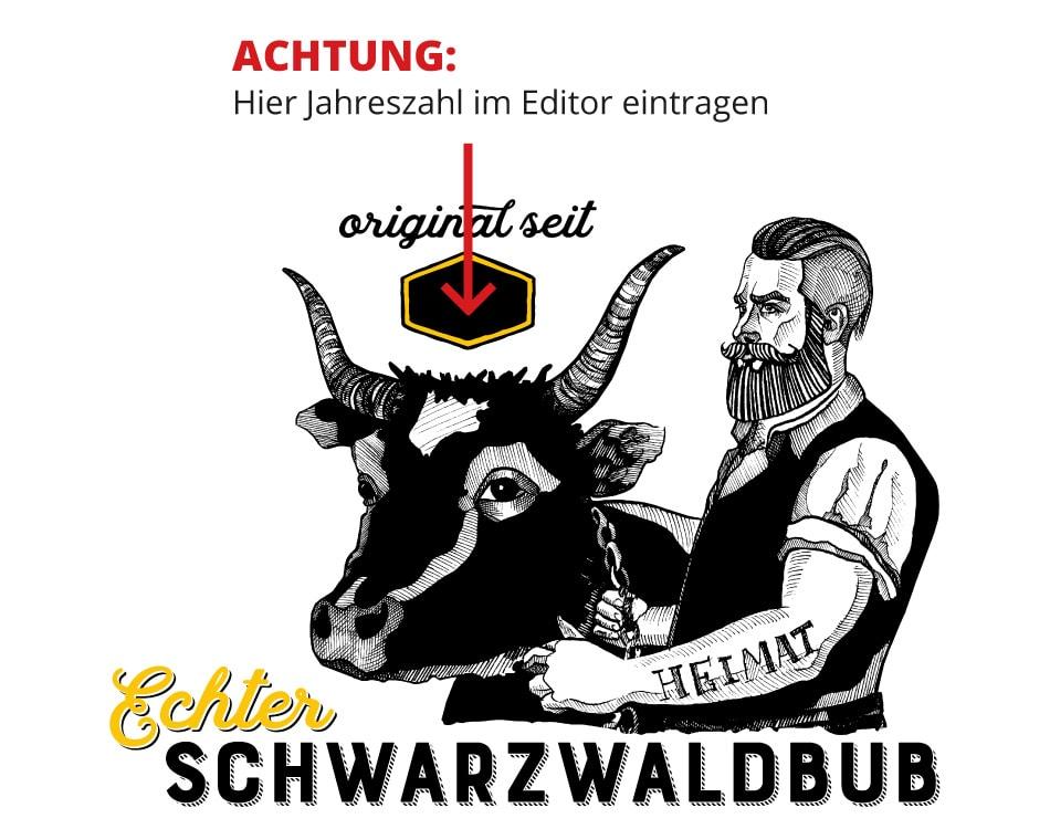 """Echter Schwarzwaldbub """"Bruno"""" seit 19XX"""